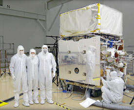 FGST in the General Dynamics clean room
